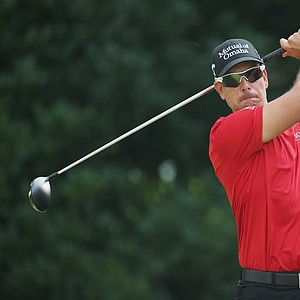 Henrik Stenson during the second round of the 2014 Players Championship at TPC Sawgrass.