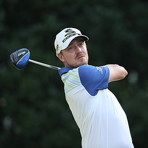 Jonas Blixt during the second round of the 2014 Players Championship at TPC Sawgrass.