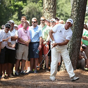 Phil Mickelson during the second round of the 2014 Players Championship at TPC Sawgrass.