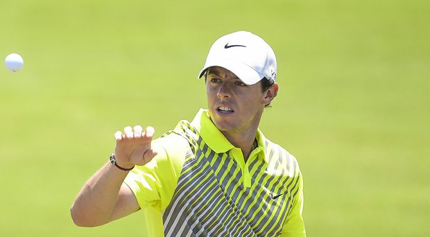 Rory McIlroy during Friday's second round of the PGA Tour's 2014 Players Championship at TPC Sawgrass.