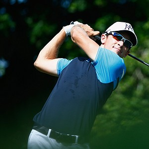 Scott Langley during the second round of the 2014 Players Championship at TPC Sawgrass.