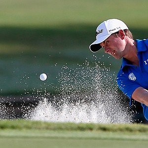 Webb Simpson during the second round of the 2014 Players Championship at TPC Sawgrass.