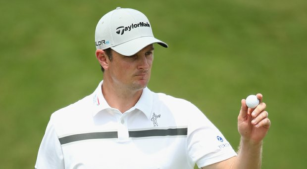 Justin Rose during the PGA Tour's 2014 Players Championship at TPC Sawgrass.