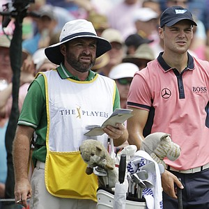 Martin Kaymer with caddie Craig Connolly during Sunday's final round of the PGA Tour's 2014 Players Championship at TPC Sawgrass in Ponte Vedra Beach, Fla.