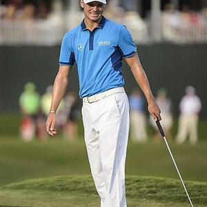 Martin Kaymer during Saturday's third round of the 2014 Players Championship.