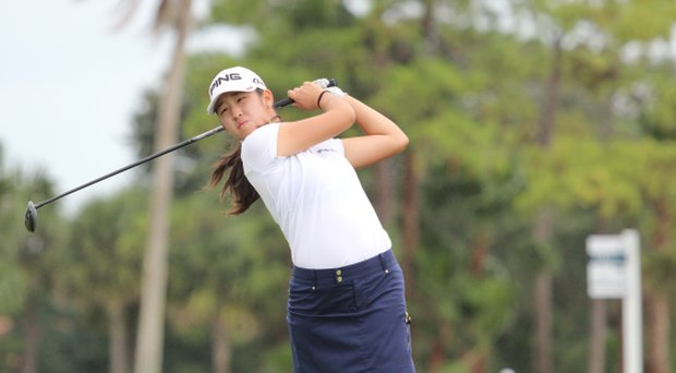 Andrea Lee, a class of 2016 golfer, has verbally committed to Stanford.
