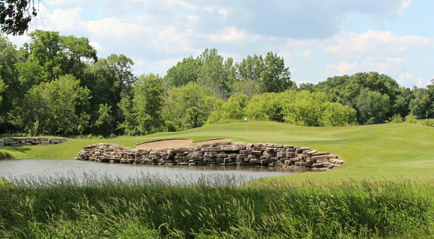 Rich Harvest Farms, site of the NCAA's Sugar Grove (Ill.) men's golf regional in 2014.