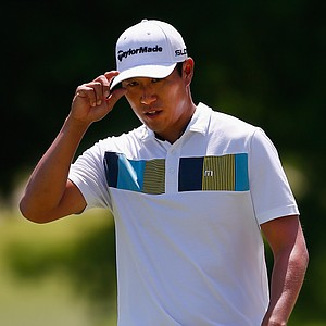 James Hahn during Sunday's final round of the PGA Tour's HP Byron Nelson Championship at TPC Four Seasons Resort in Irving, Texas.