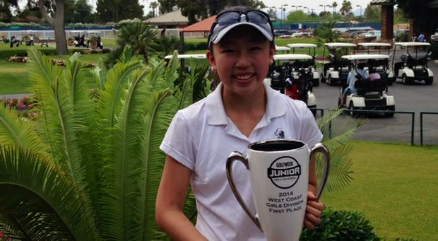 Madeline Chou won the Golfweek West Coast Junior at Mesa (Ariz.) Country Club.