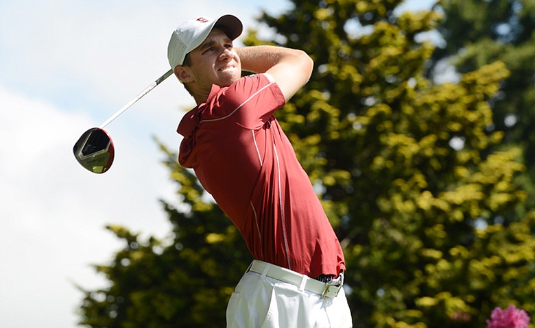 With his regional victory on May 17, Stanford junior Patrick Rodgers tied Tiger Woods' record of 11 collegiate victories as a Cardinal.