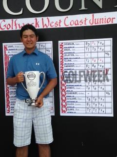 Shawn Tsai won the boys division at the Golfweek West Coast Junior.