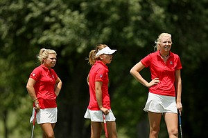 Arizona Wildcats during Monday's practice at the Women's 2014 Golf Championships at Tulsa Country Club.