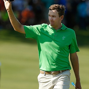 Brendon Todd during the final round of the HP Byron Nelson Championship.