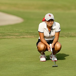 Oklahoma's Alexandra Kaui posted a 68 during the first round the Women's 2014 Golf Championships at Tulsa Country Club.