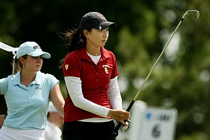 USC's Doris Chen followed her first round 67 with a 72 in the second round of the 2014 NCAA Division 1 Women's Golf Championships at Tulsa Country Club.