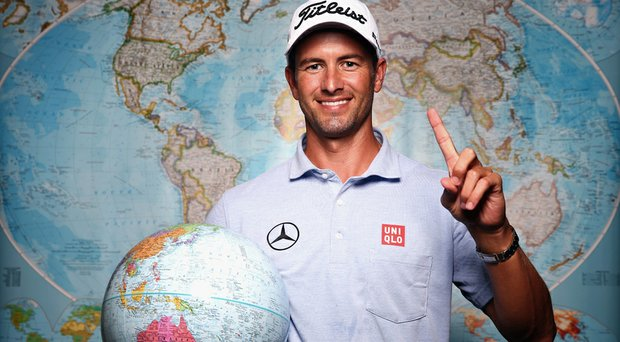 Adam Scott enters the PGA Tour's 2014 Crowne Plaza Invitational at Colonial as the No. 1-ranked player in OWGR.