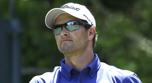 Adam Scott will tee it up as the World No. 1 golfer at the PGA Tour's 2014 Crowne Plaza Invitational at Colonial in Fort Worth, Texas (shown here during The Players Championship).
