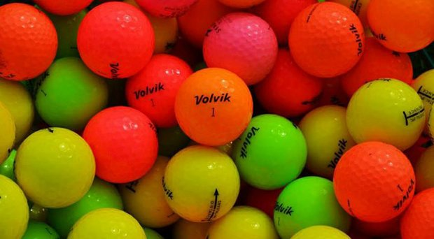 Among the manufacturers who are aggressively marketing golf balls in an array of colors for U.S. golfers is Volvik.