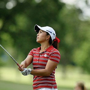 Oklahoma's Alexandra Kaui during Round 3 of the Women's 2014 NCAA Division 1 Golf Championships at Tulsa Country Club.