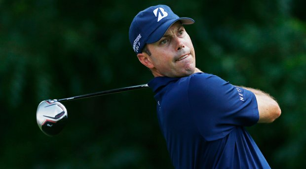 Matt Kuchar at the Crowne Plaza Invitational.