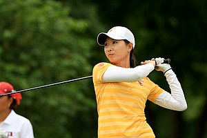 USC's Doris Chen during the final round of the Women's 2014 NCAA Division 1 Golf Championships at Tulsa Country Club.