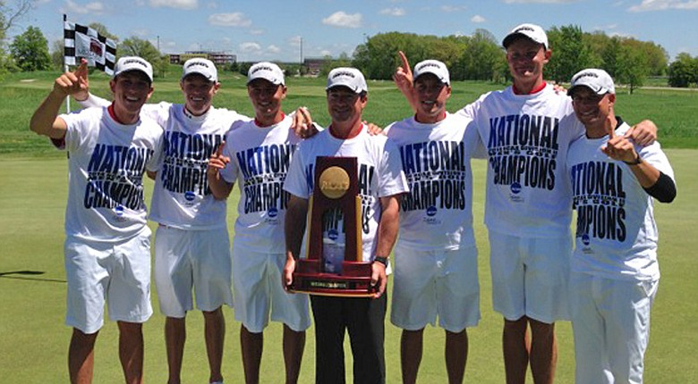 Barry's men's golf team after winning the 2014 NCAA Division II Men's Championship.
