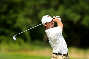 Virginia's Denny McCarthy during the NCAA Men's Division 1 Championship at Prairie Dunes Country Club in Hutchinson, Kan.