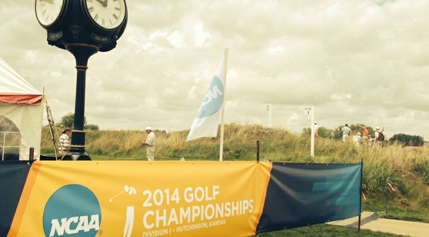 The NCAA Men's Division I Championship at Prairie Dunes Country Club in Hutchinson, Kan.