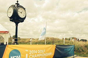 The NCAA Men's Division 1 Championship at Prairie Dunes Country Club in Hutchinson, Kan.
