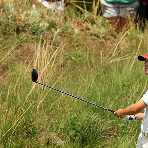 Stanford's Cameron Wilson on Monday of the NCAA Men's Division 1 Championship at Prairie Dunes Country Club in Hutchinson, Kan.