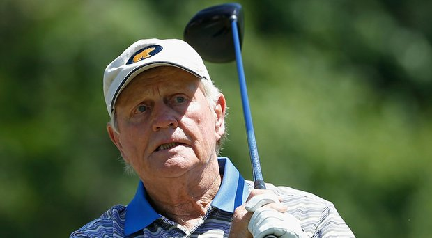 On the eve of the Memorial Tournament, Jack Nicklaus talked about the shape his game's in, his career majors record in Tiger Woods' sights and how far he might have driven the ball in his prime using today's equipment (Nicklaus shown here during the Champions Tour's Insperity Invitational earlier this month).
