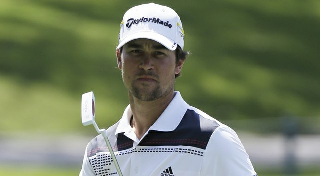 Casey Wittenberg, shown during the 2013 Players Championship, leads after the first round of the U.S. Open sectional qualifier in Cordova, Tenn., after a 9-under 62 at Colonial Country Club's North Course.