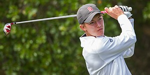 Stanford's McNealy tied for lead at Daly City qualifier