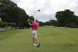 Peter Malnati during the U.S. Open sectional qualifier at Colonial Country Club in Cordova, Tenn.