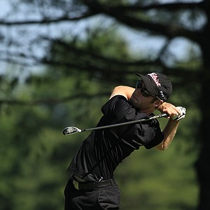 David Sheman during the sectional qualifier at Purchase, N.Y., for the 2014 U.S. Open at Pinehurst.