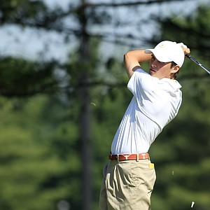 Gavin Hall during the sectional qualifier at Purchase, N.Y., for the 2014 U.S. Open at Pinehurst.