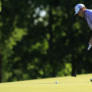 Lee Janzen during the sectional qualifier at Purchase, N.Y., for the 2014 U.S. Open at Pinehurst.