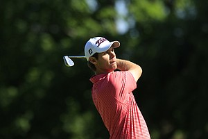 Max Buckley during the sectional qualifier at Purchase, N.Y., for the 2014 U.S. Open at Pinehurst.