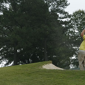 Brad Fritsch during the first round of the U.S. Open sectional qualifier at Colonial Country Club in Cordova, Tenn.