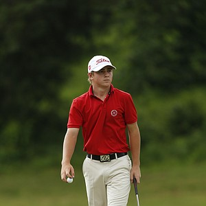 John Augenstein during the U.S. Open sectional qualifier at Colonial Country Club in Cordova, Tenn.