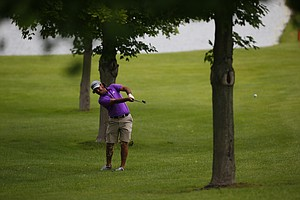 Hugo Leon during the U.S. Open Sectional Qualifier in Springfield, Ohio.