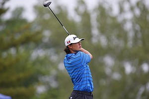 Ryan Yip during the U.S. Open Sectional Qualifier in Springfield, Ohio.