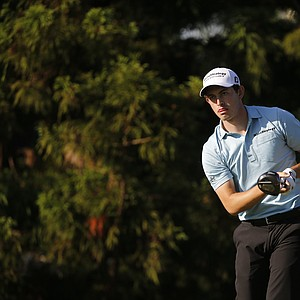 Patrick Cantlay during the U.S. Open sectional qualifier at Woodmont Country Club in Rockville, Md.