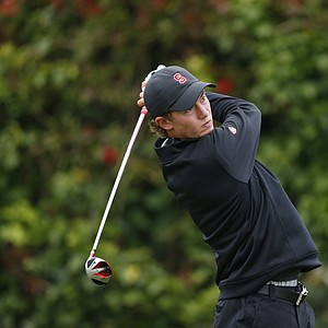 Maverick McNealy during the U.S. Open sectional qualifier at Lake Merced Golf Club in Daly City, Calif.
