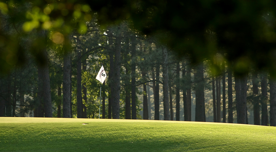 The eighth hole at Pinehurst No. 2, site of the 2014 U.S. Open.