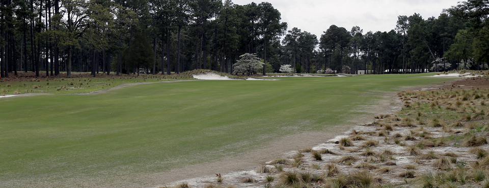 The 10th hole at Pinehurst No. 2, site of the 2014 U.S. Open.