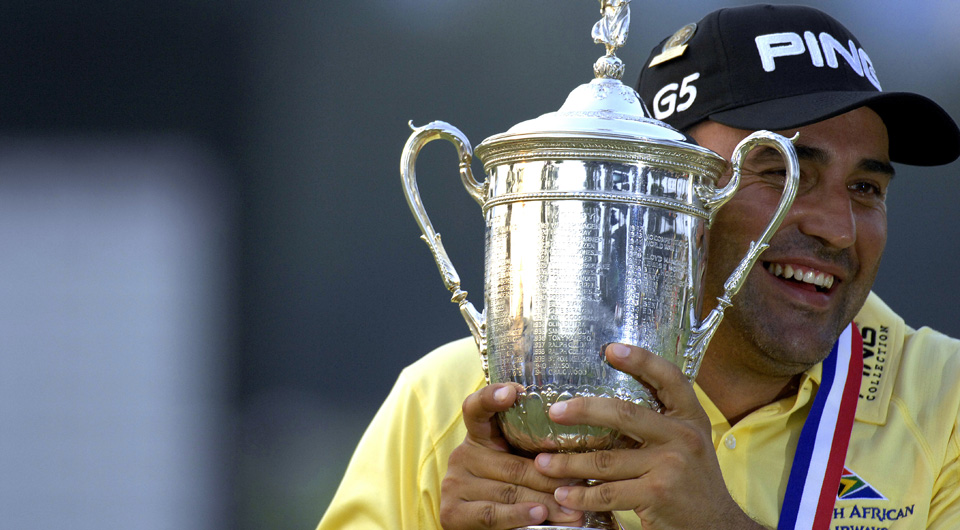 Angel Cabrera won the U.S. Open in 2007.