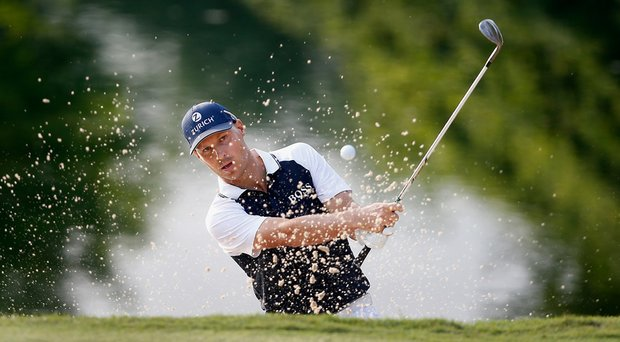 Ben Crane during the first round of the FedEx St. Jude Classic at TPC Southwind in Memphis.