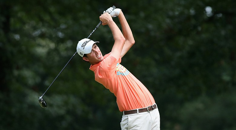 Chesson Hadley during the second round of the FedEx St. Jude Classic at TPC Southwind in Memphis.