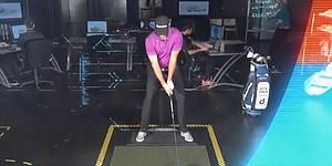 VIDEO: D. Johnson tests adidas golf's grimpmore technology